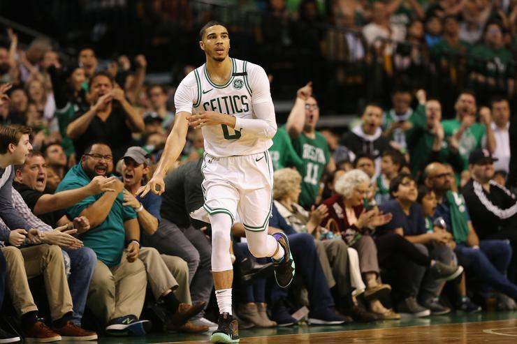 Jayson Tatum, Boston, Celtics, home