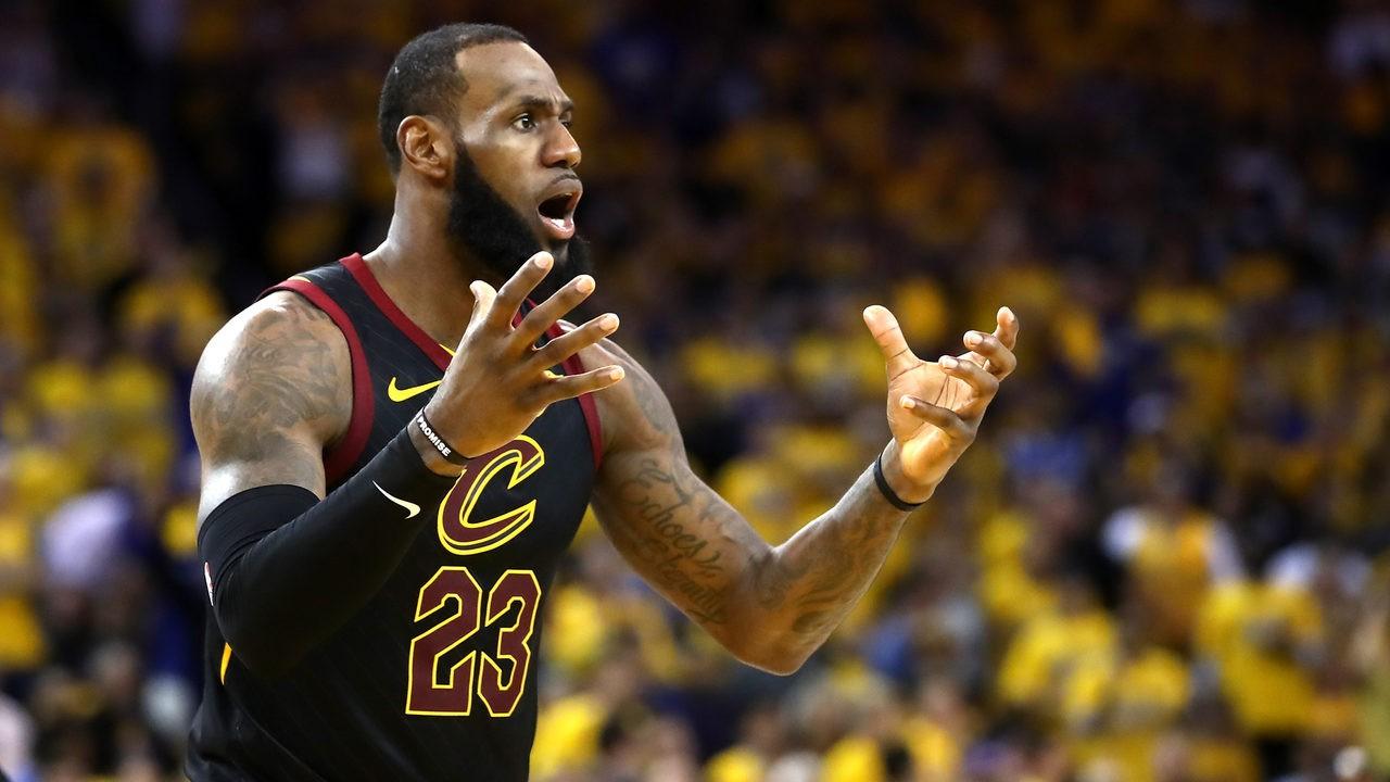 LeBron James, referees, refs, NBA Finals