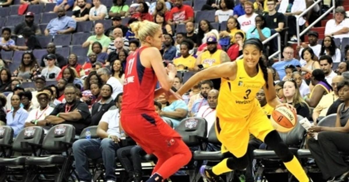 WNBA, Candace Parker, Elena Delle Donne, All-Star