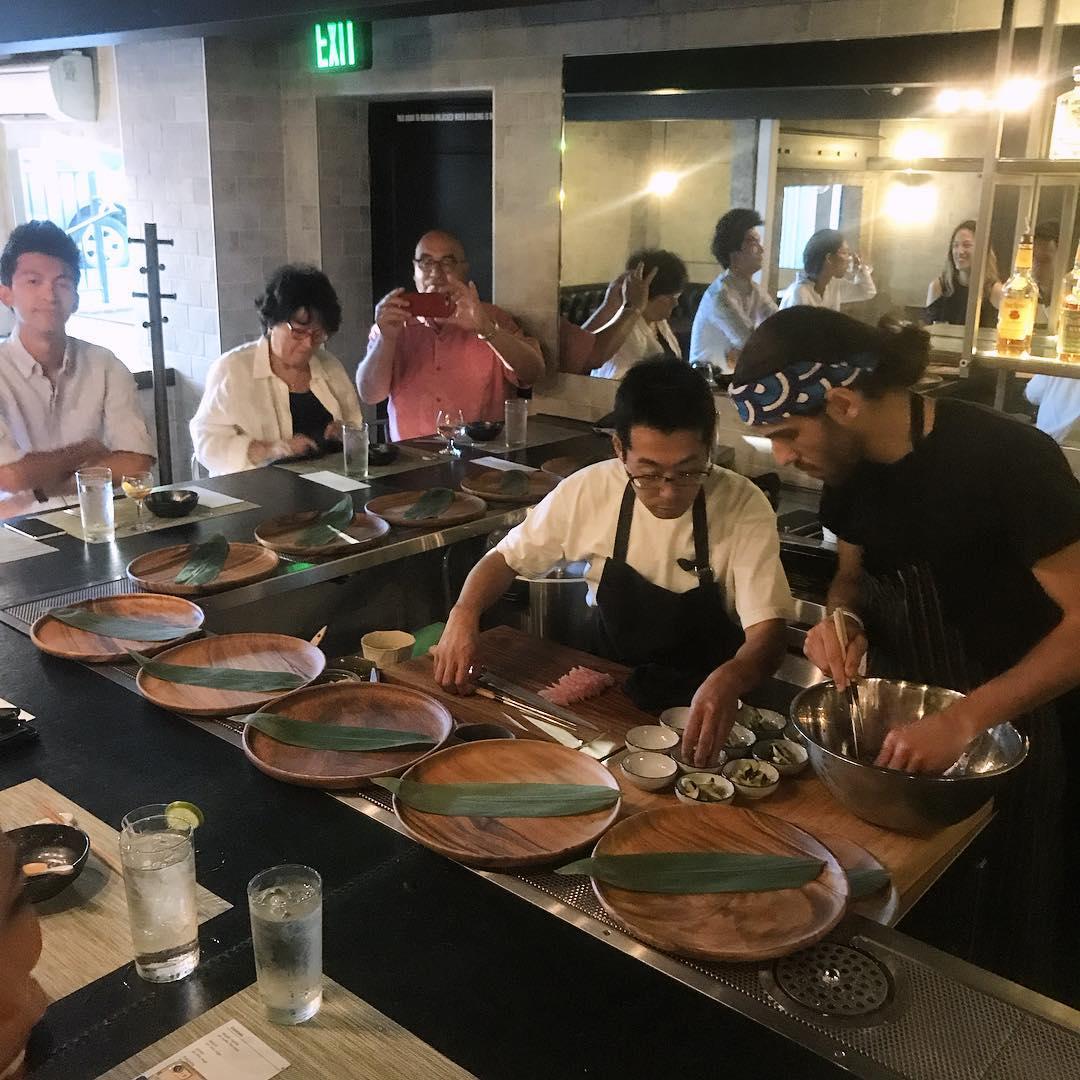 sushi dinner, Chef Yoshi
