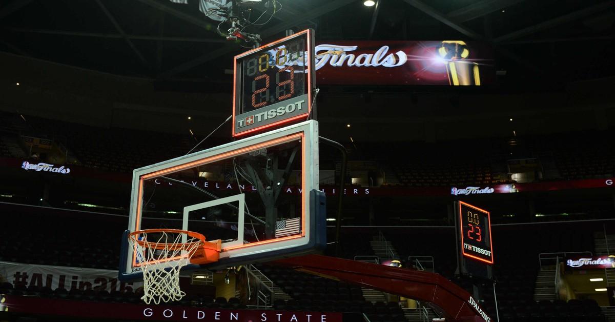 shot clock, NBA