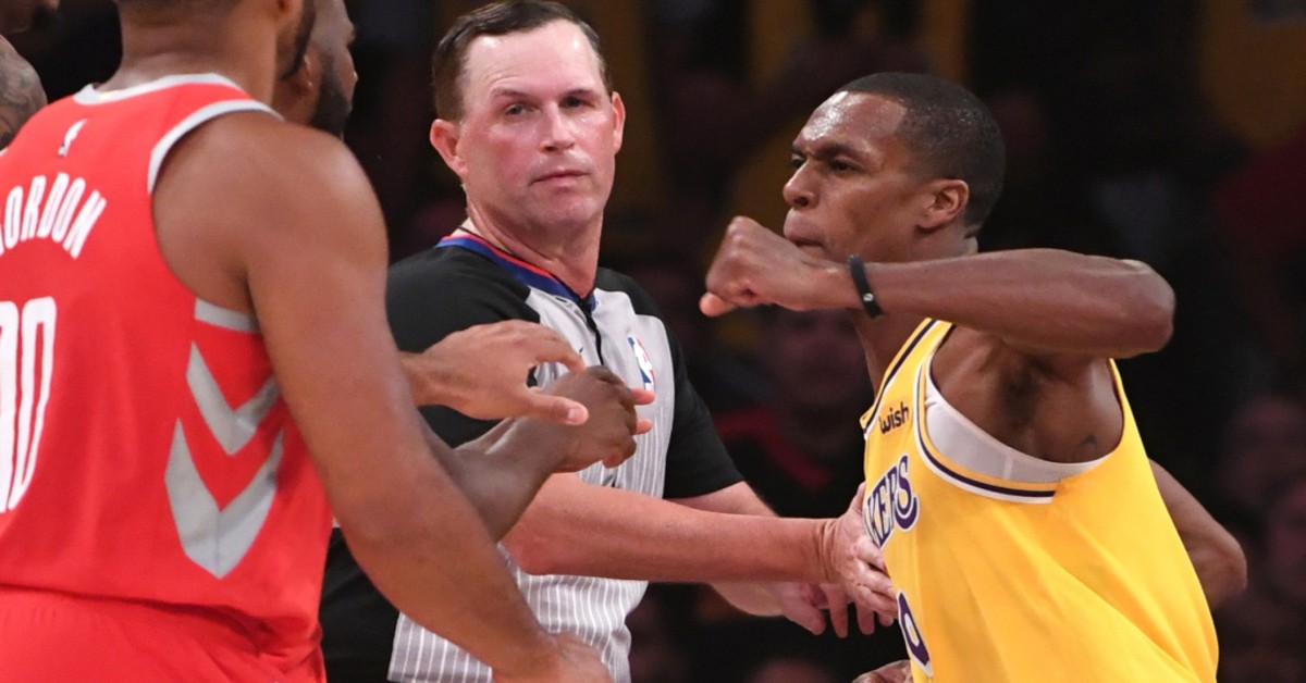 suspensions, Rajon Rondo, Chris Paul, fight