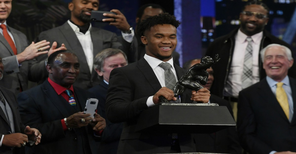 kyler murray, heisman trophy
