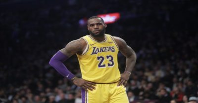 LeBron James, LA Lakers, column