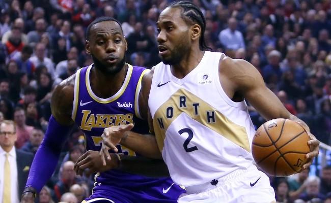 Kawhi Leonard, LeBron James, Clippers, Lakers
