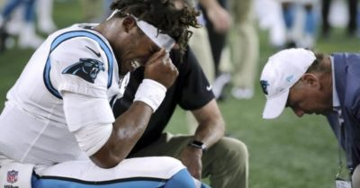 injuries, Cam Newton