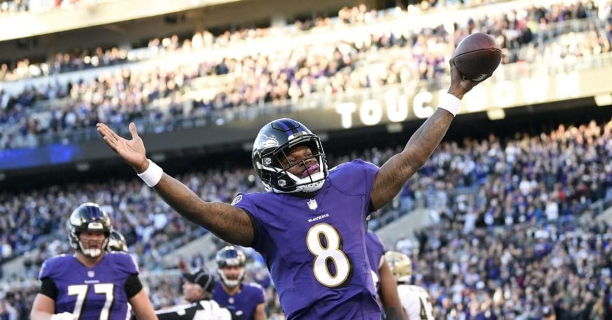 record, quarterback, baltimore ravens