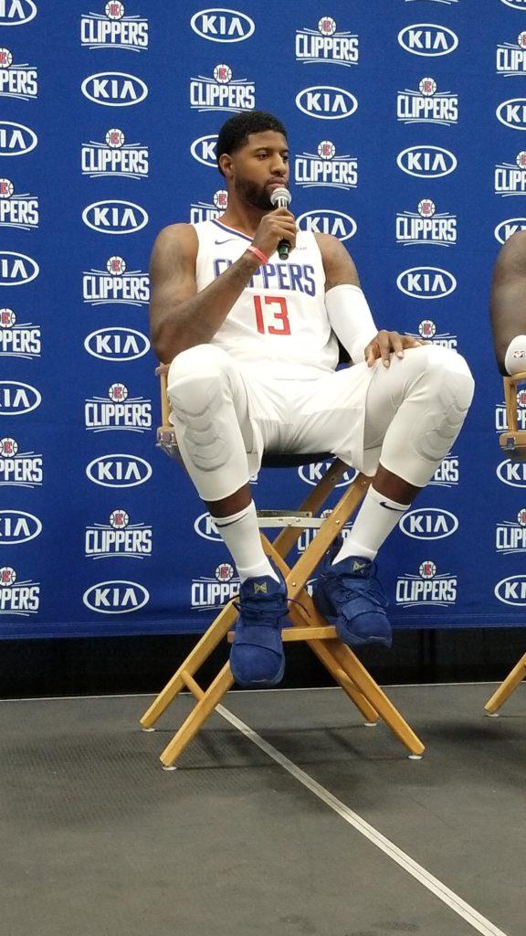 LA Clippers media day