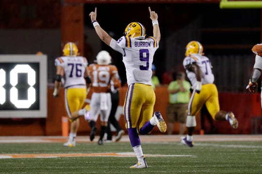 Joe Burrow, LSU