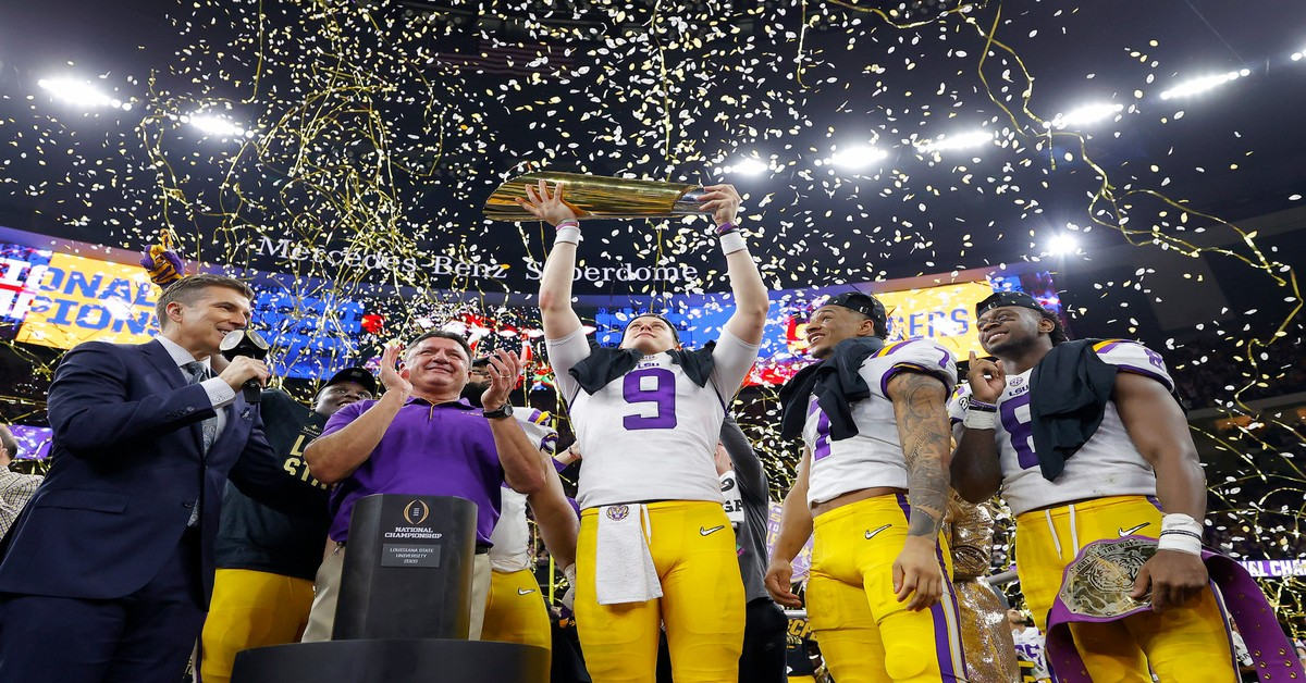 national championship, lsu