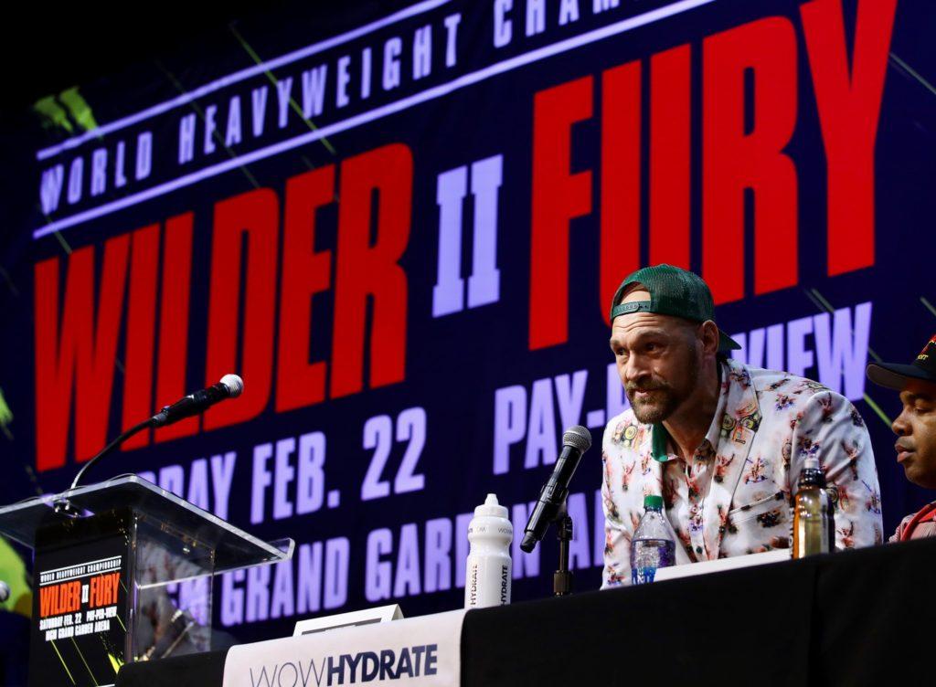 Fury, Wilder fight