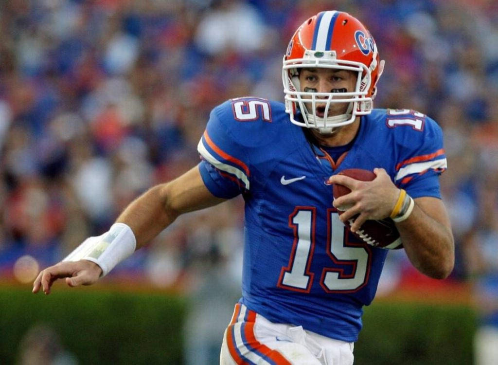 Tim Tebow, all-time