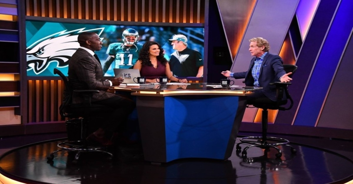 relationships, Shannon Sharpe, Skip Bayless