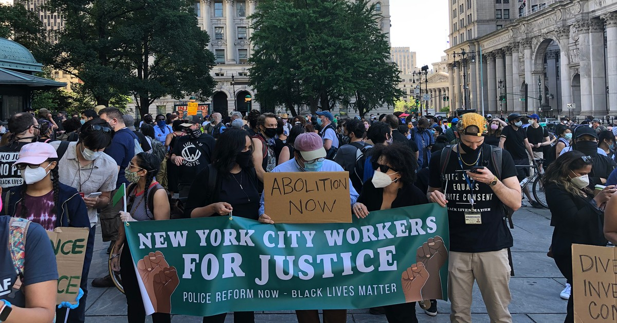 new york protesters, police reform