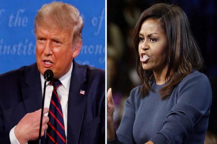 Michelle Obama, Donald Trump