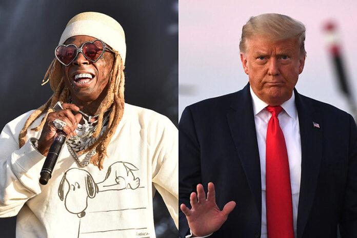 Lil Wayne, Trump