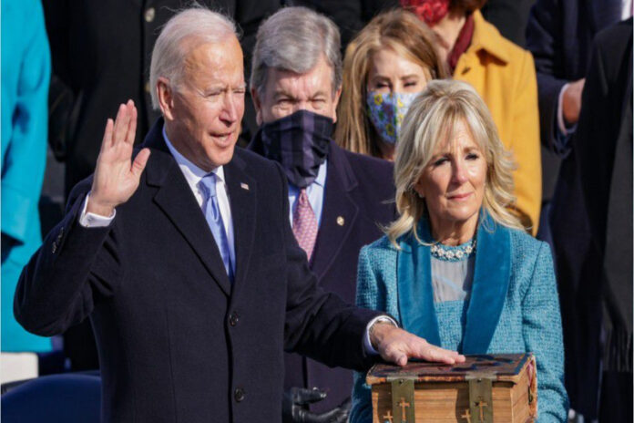 Joe Biden, Inauguration