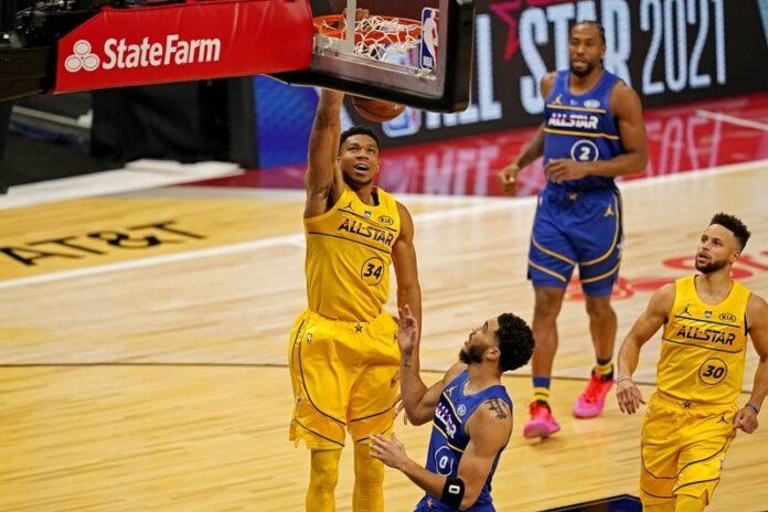 Giannis, NBA All-Star