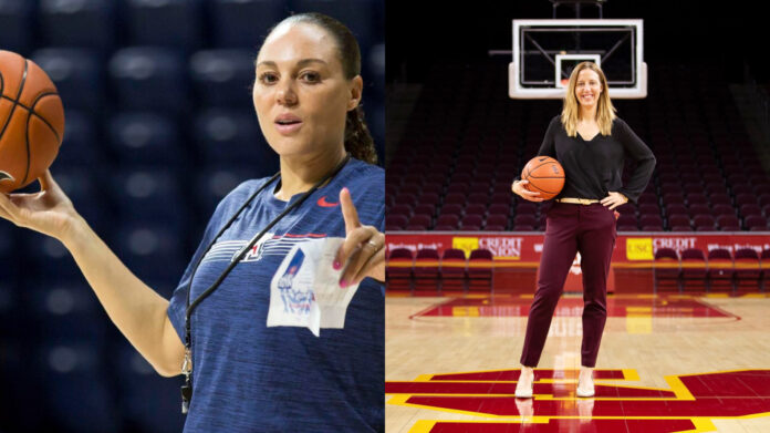 Adia Barnes, Lindsay Gottlieb, money, USC, Arizona, women's basketball