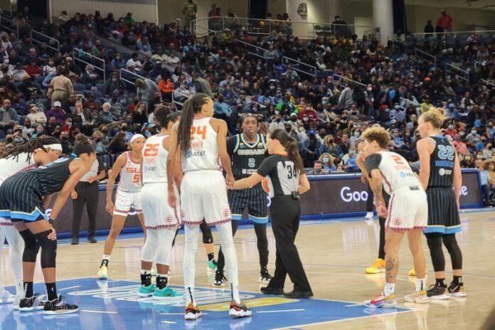 WNBA playoffs, Connecticut Sun, Chicago Sky, Candace Parker